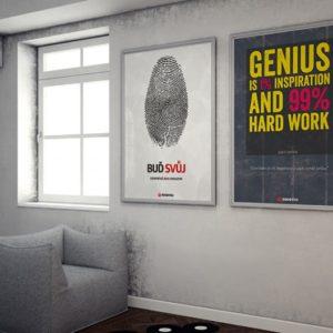 Motivační plakáty